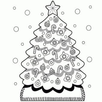 Christmas Coloring Sheets  2012