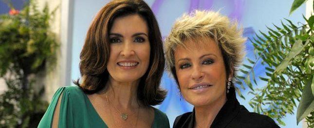 Fátima Bernardes e Ana Maria Braga. Foto: Divulgação/TV Globo