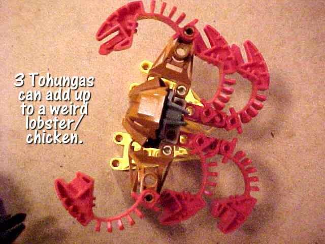 It's a lobster! It's a chicken!