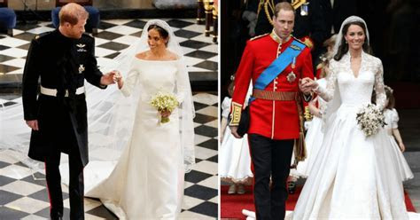 Lace and long trains: Here's how Meghan Markle's wedding