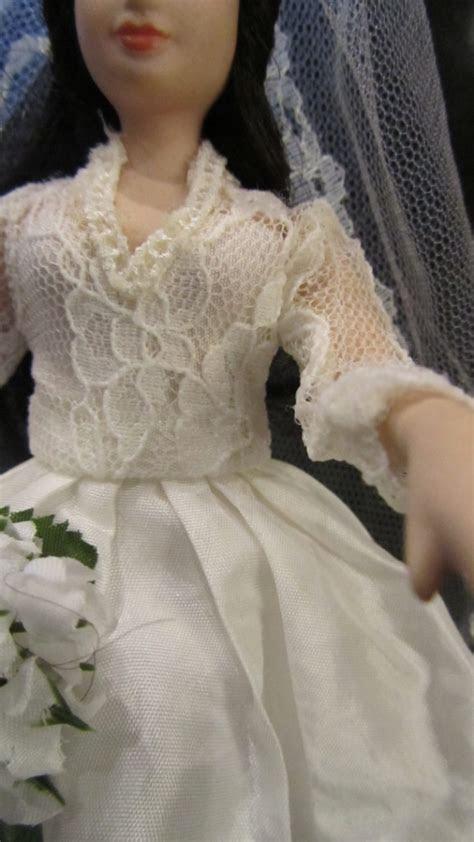 Kate Middleton porcelain doll Princess royal bride in
