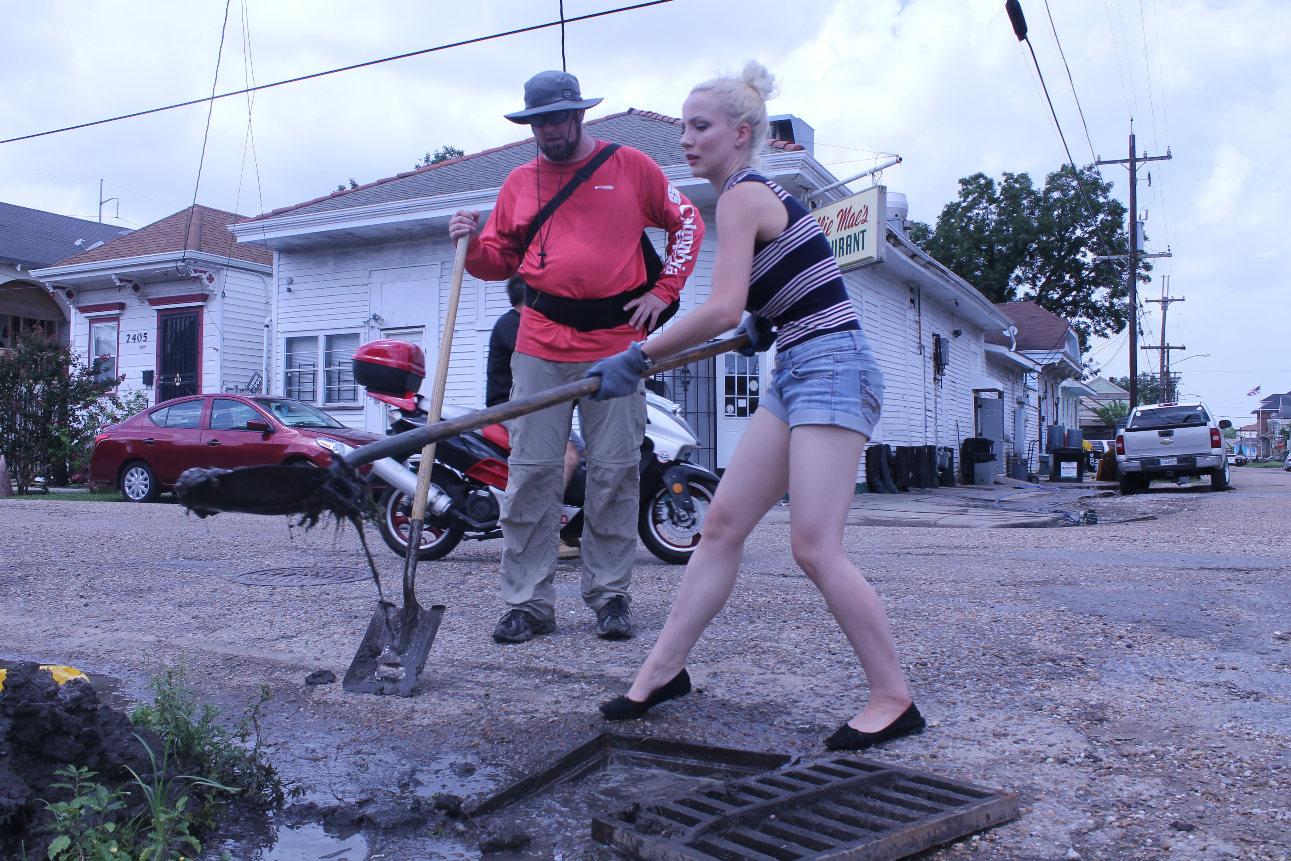 Catch Basin Cleanup Kickstarted After Saturdays Deluge Drains Mid