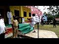 Pengibaran Bendera Merah Putih Distrik Kelila, Memberamo Tengah 17-08-2016