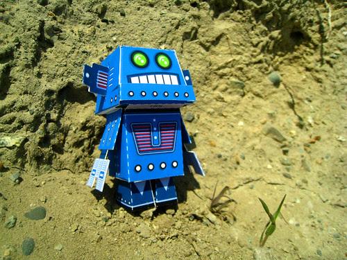 ptsf vinny 01 - Retrobot by Marshall Alexander