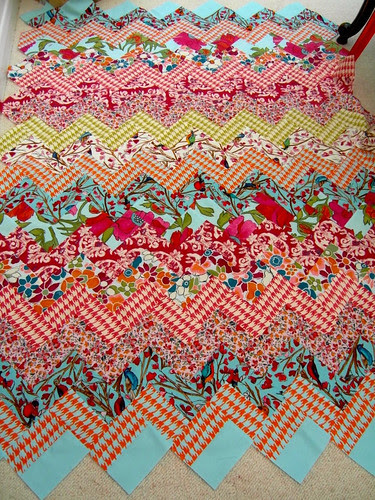 Siblings Together quilt top