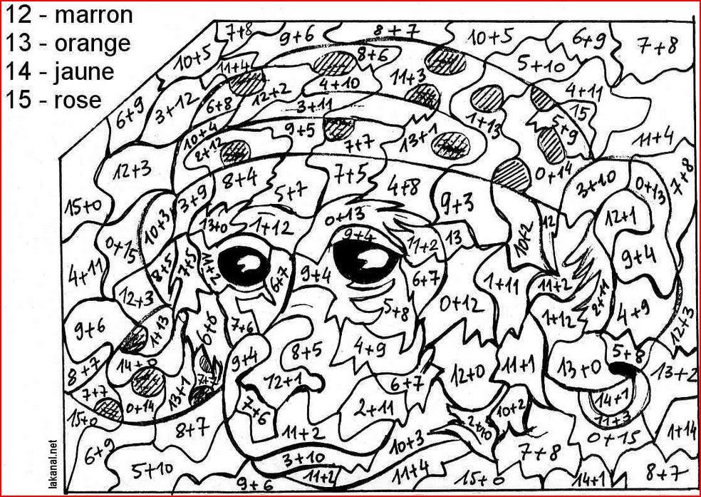 Coloriage éducatifs Ce1ce2cm1cm2 Français Et Mathématique