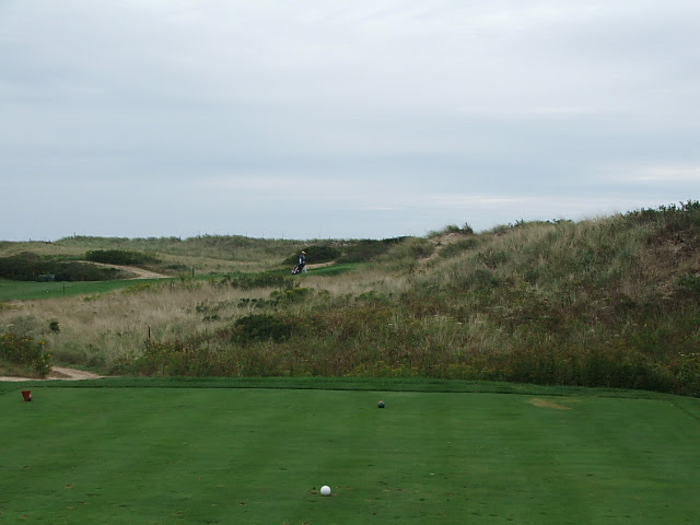 8th from tee