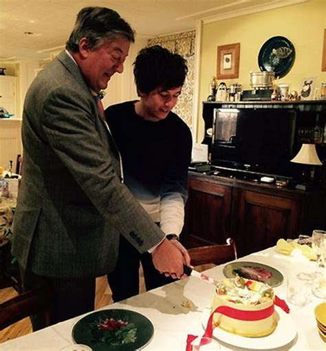 Stephen Fry shares wedding cake photo on Twitter   HELLO!