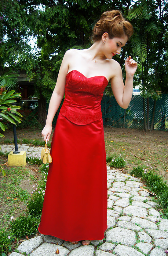 Outfit post: Lady in Red (3)