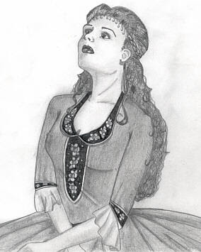 Image result for christine daae drawing