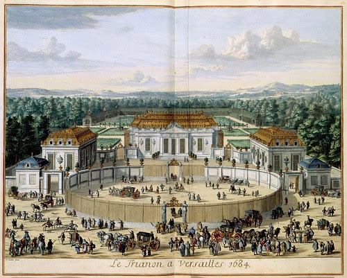 Le Trianon de Versailles 1684 by William Swidden