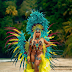 Ashanti flaunts her hot body in revealing beaded bikini during Trinidad and Tobago Carnival  (Photos)