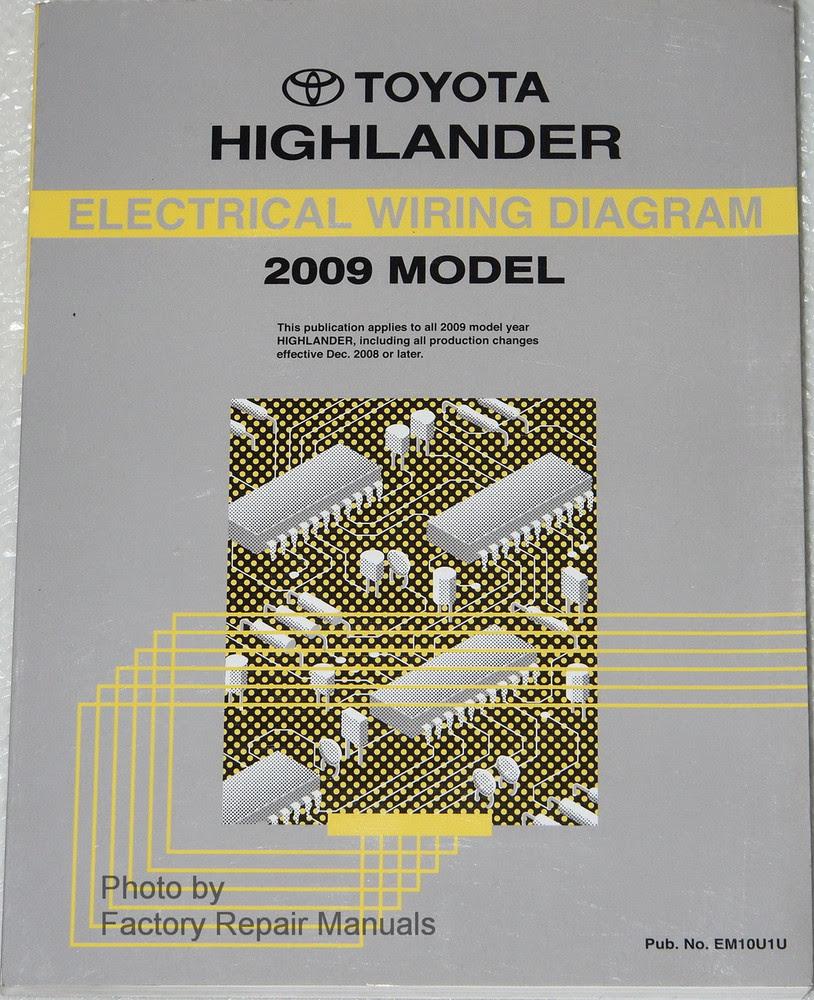 Diagram 2009 Toyota Highlander Electrical Wiring Diagram Service Repair Manual 09 Full Version Hd Quality Manual 09 Diagrampaulq Martapierobon It