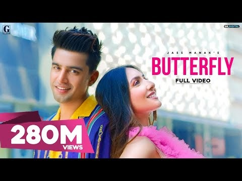 Butterfly song lyrics by Jass Manak