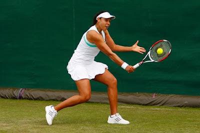 Black Tennis Pro's Alexandra Stevenson