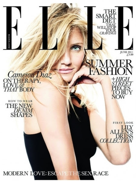 cameron diaz 2011 hot. Cameron Diaz Covers Elle UK