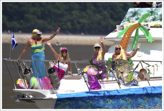 Mermaids On The Foredeck