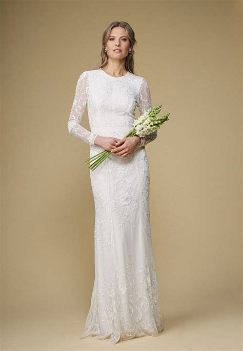 Elegant and affordable high street wedding dresses for