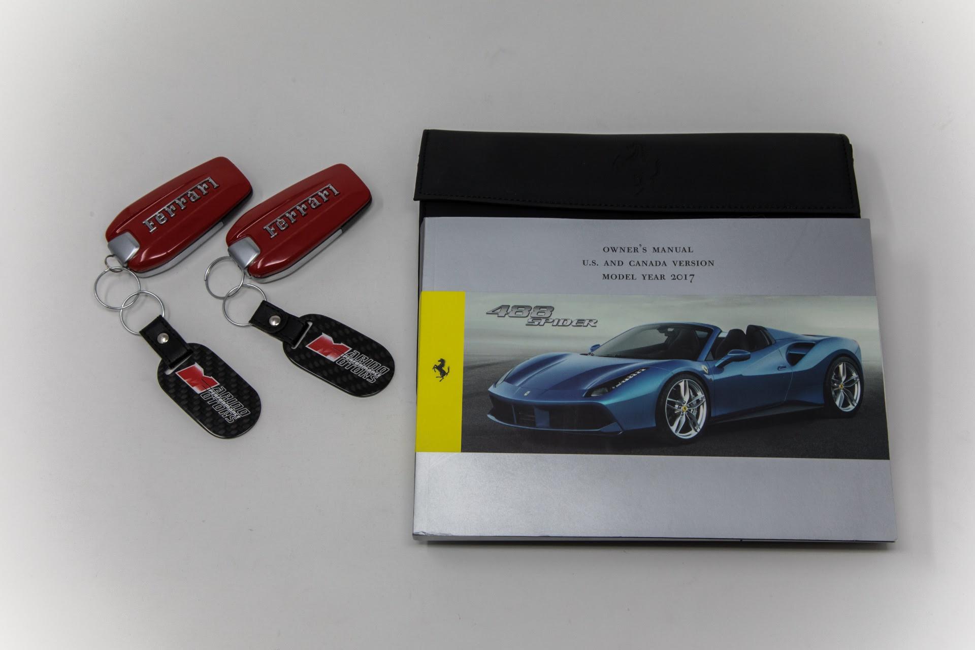 Used 2017 Ferrari 488 Spider For Sale 264900 Marino