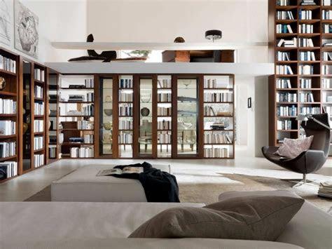 idees de design  deco bibliotheque inspirantes
