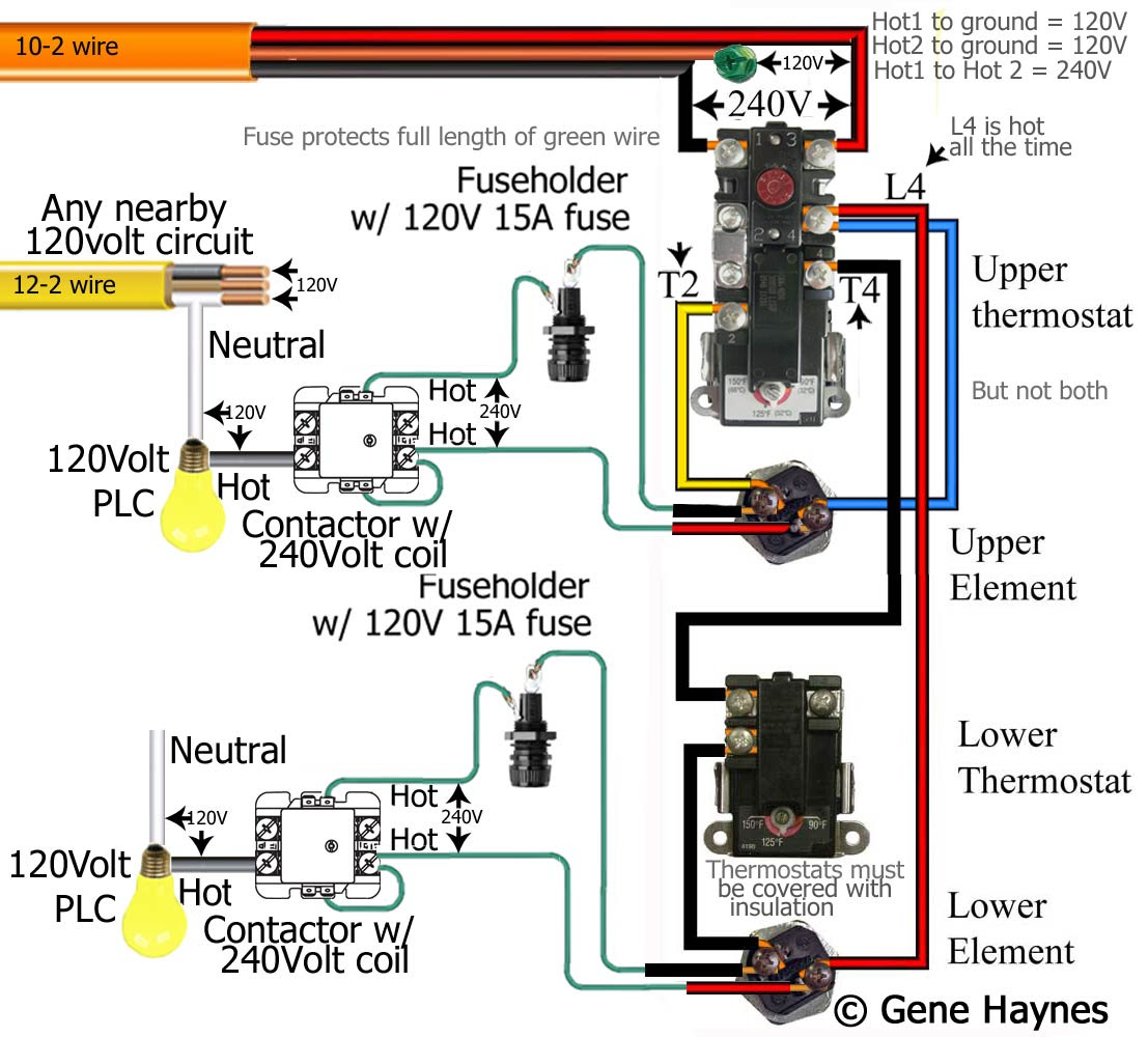 How To Wire Water Heater Pilot Light