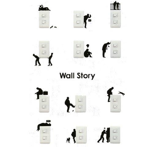 ウォールステッカー ウォールストーリー【運搬】