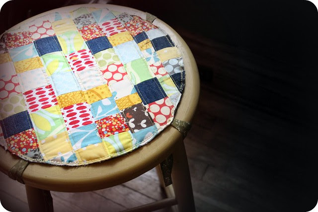 patchwork from scraps