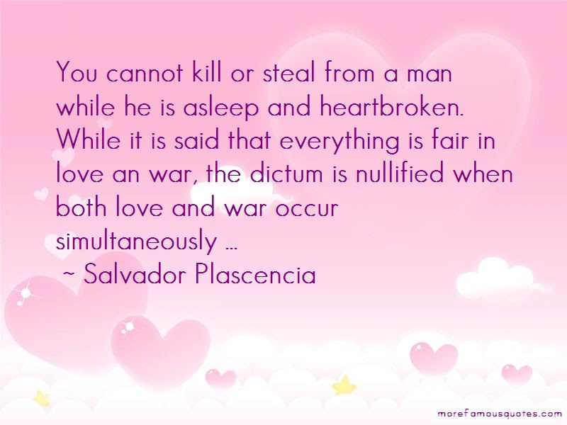Everything Is Fair In Love And War Quotes Top 1 Quotes About