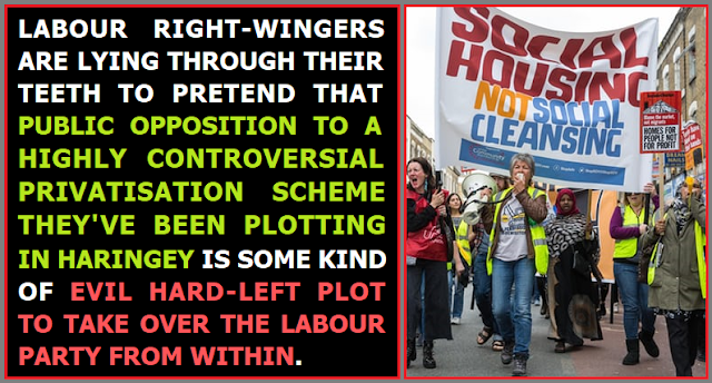 The Labour right are pushing farcical conspiracy theories about what's going on in Haringey