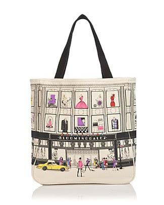 Bloomingdale's Iconic Storefront Canvas Tote