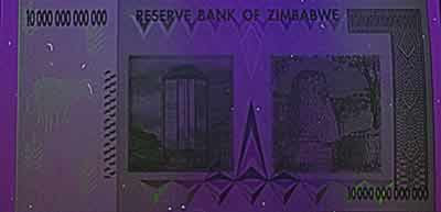 Zim 10 Trillion UV