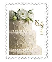 $0.64 Wedding Stamp