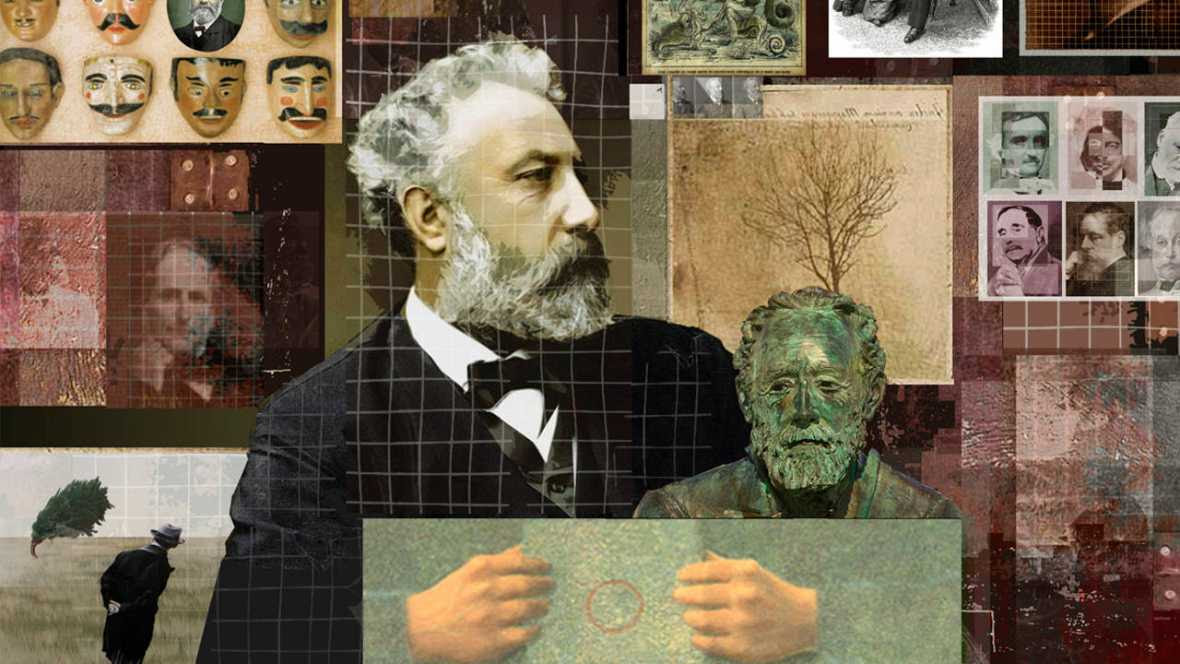 Retrato de Julio Verne, de Charles Caum
