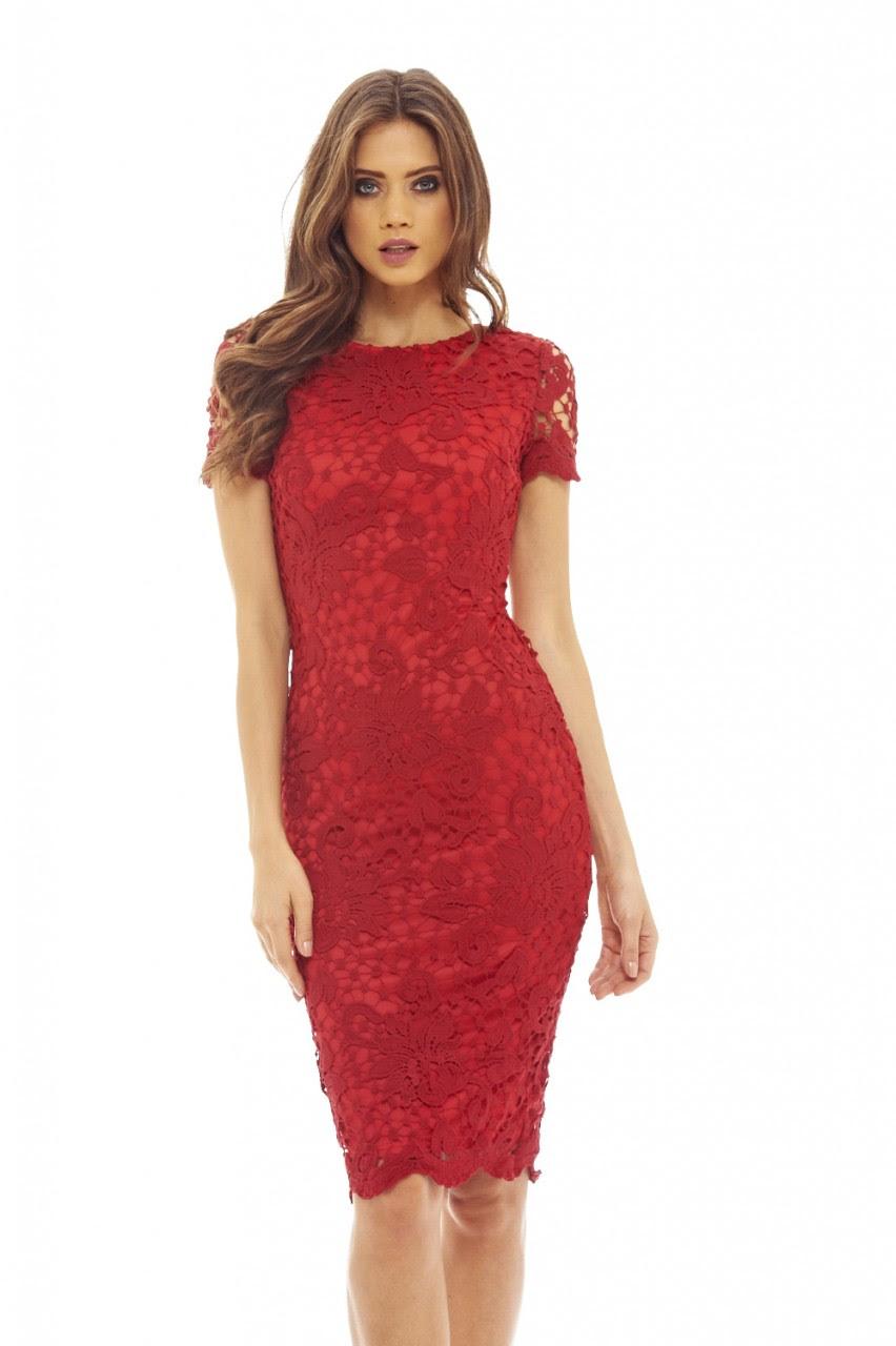 Short sleeve midi bodycon dress