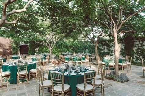 Classy Emerald and Gold Wedding at The Villa San Juan