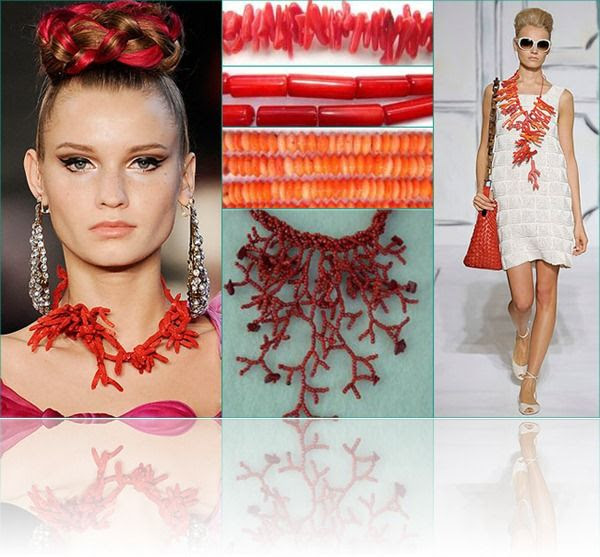 Coral Jewelry On Celebs | Coral Jewelry is one of latest and hot jewelry trend . Coral's ...