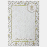 "Personalize: Golden Christmas ""Angel of Grace"" Post-it® Notes"