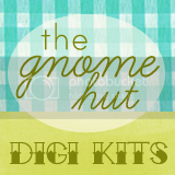 The Gnome Hut/ Retro Plants Digi Kit Button