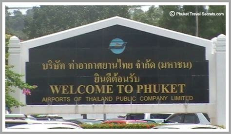 Phuket Airport, Airport Guide, Arrival, Departures, Taxi's