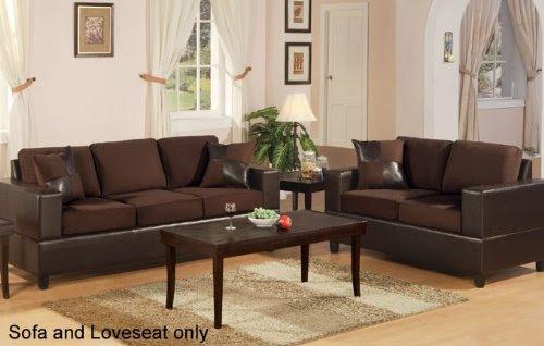 Best Prices Bobkona Seattle Microfiber Sofa And Loveseat 2 Piece