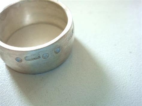 10mm wide men's wedding band MORSE CODE sterling silver