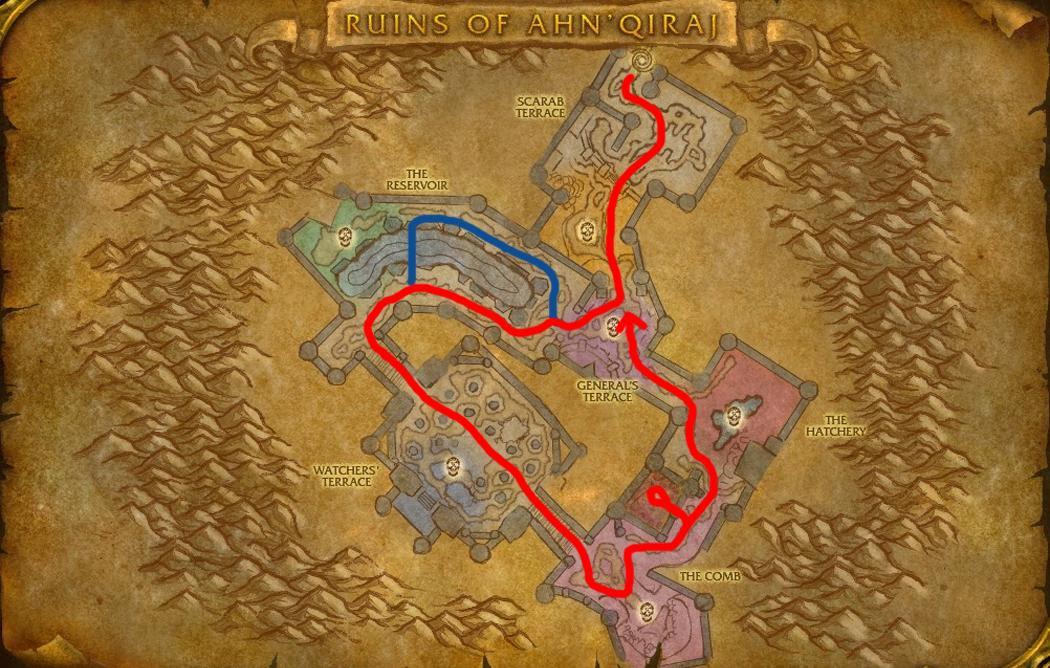 Master of World of Warcraft : Ruins of Ahn'Qiraj transmog farm