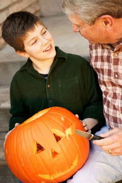 Jack-o-Lantern carving