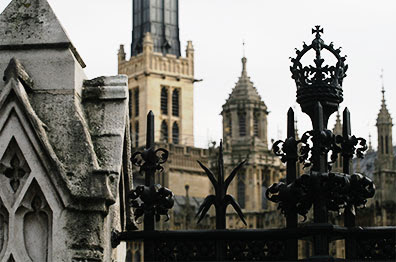 Fence, Palace of Westminster