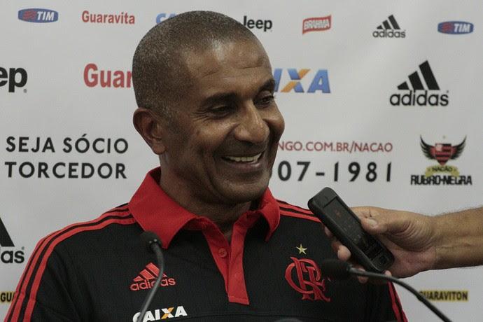 Cristóvão Borges, apresentação, Ninho do Urubu, Flamengo (Foto: Gilvan de Souza/ Fla Imagem)