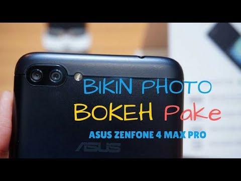 Fungsi Mode Pro Untuk Membuat Foto Potrait Efek Bokeh Pada Asus Zenfone 4 Max Pro