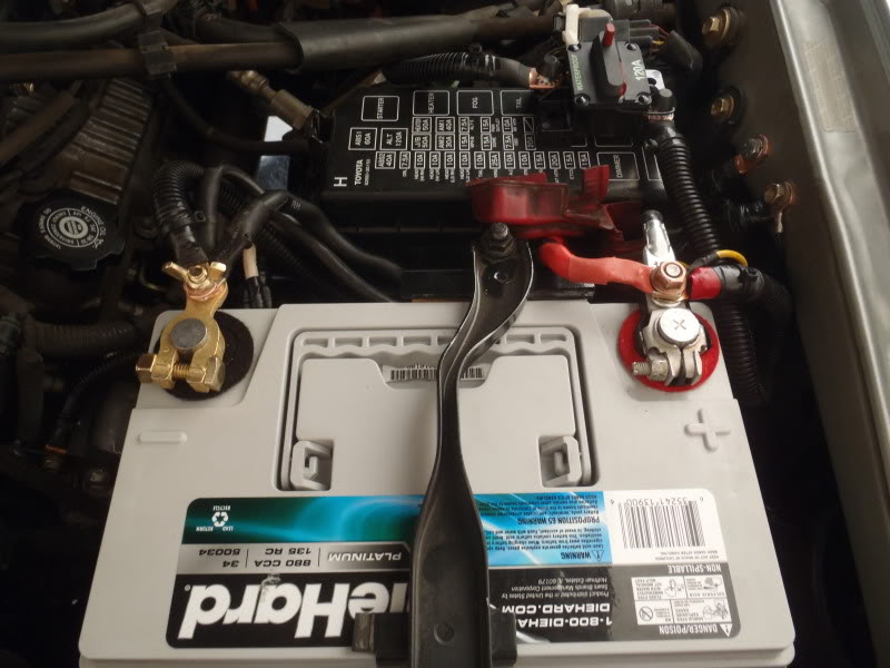 Performing The Big 3 Wiring Ugrade On A 3rd Gen T4r A How To Toyota 4runner Forum Largest 4runner Forum