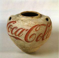 Han Dynasty Urn with Coca-Cola Logo, 1994byAi Weiwei