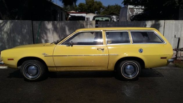 We Love Ford's, Past, Present And Future.: 1973 Ford Pinto ...