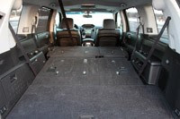 2011 Honda Pilot 4WD Touring rear cargo area